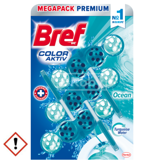 Bref Color Aktiv Ocean WC Blok 3x50g