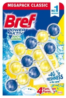 Bref Power Aktiv Pure White WC Blok 3x50g