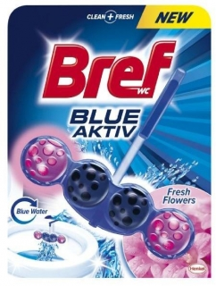 Bref Blue Active Fresh Flower WC Blok 50g