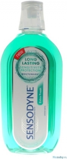 Sensodyne Long Lasting Sensitivity Protection Extra Fresh ústna voda 500 ml