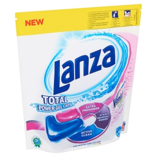 Lanza with Vanish Total Power gélové kapsule 28ks