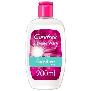 Carefree Sensitive intim gel 200ml