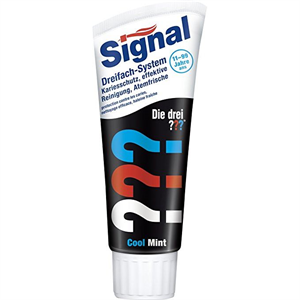 Signal Junior Dreifach-system Cool Mint 75ml