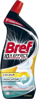 Bref 10xEffect WC gél Anti Rust Citrus 750ml