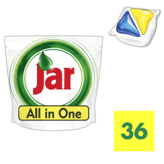 Jar All in1 Lemon tablety 36ks