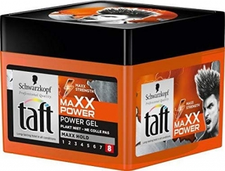 Taft Maxx Power8 gél na vlasy 250 ml