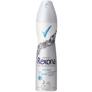 Rexona Crystal Clear Aqua deospray 150 ml