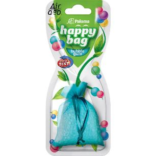 Paloma Happy Bag Bubble Gum osviežovač vzduchu do auta 15g
