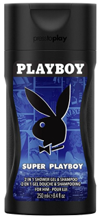 Playboy 2in1 Super Playboy sprchový gél 250ml