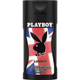 Playboy 2in1 London sprchový gél 250ml