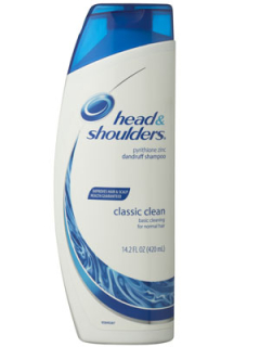 Head & Shoulders Classic šampón 400ml