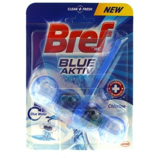Bref Blue Aktive Chlorine WC Blok  50g